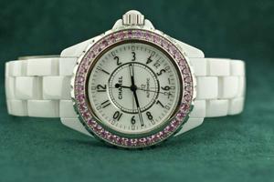 J12 White Ceramic Pink sapphires