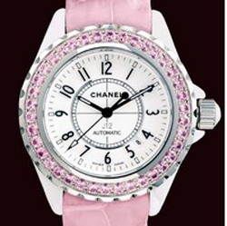 J12 White Ceramic Pink sapphires H1337
