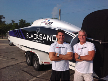 Blacksand team won the World Cup race in boats