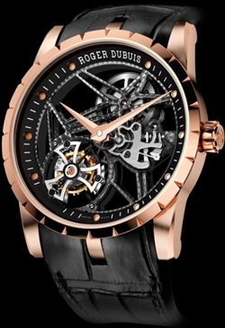 Excalibur 42 Tourbillon Squelette of Roger Dubuis at the exhibition SIHH