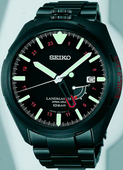 The new black model from Seiko