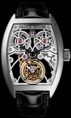 Franck Muller Tourbillon presented the fastest